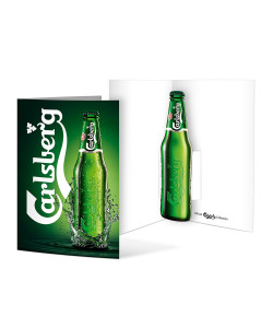 Carlsberg Pop Up Kort